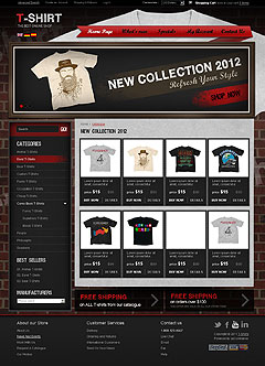T-shirts v2.3 osCommerce