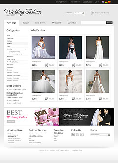 Wedding Store v2.3 osCommerce