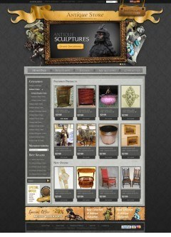 Antique Store v2.3 osCommerce