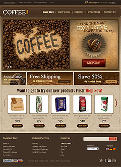 Coffee v2.3 osCommerce
