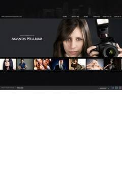 Photographer HTML5 template