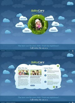 Kindergartnen HTML5 template