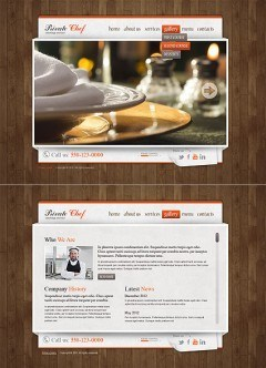 Catering Service HTML5 template