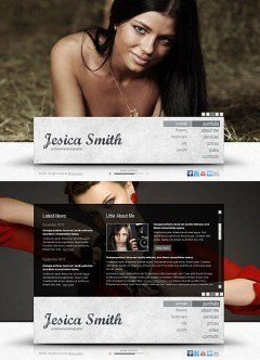 Photo Gallery HTML5 template