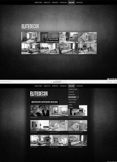 Elite Interior HTML5 template