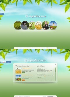 Agro Service HTML5 template