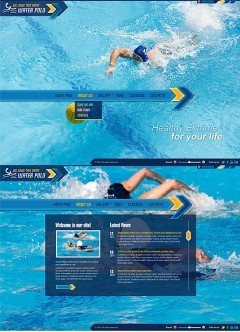Water Polo HTML5 template