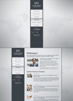 Go Business HTML5 template