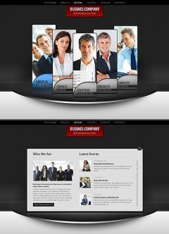 Business Co. HTML5 template