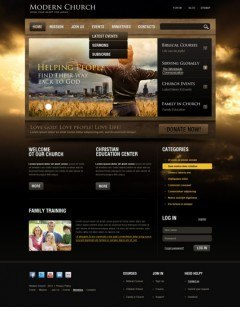 Church v2.5 Joomla template