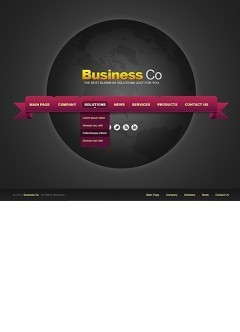 Business co. v2.5 Joomla template