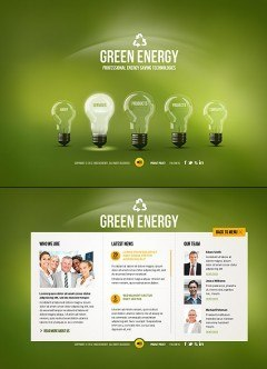 Green Energy HTML5 template