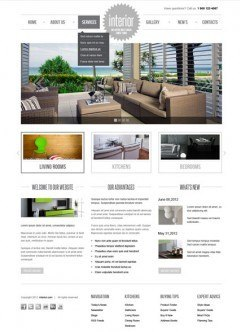 Interior v2.5 Joomla template