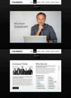 Business Company HTML5 template