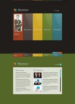 Color Business HTML5 template