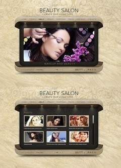 Beauty Salon HTML5 template