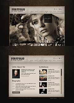 Photographer HTML5 Gallery Admin