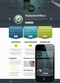Business Co Wordpress template