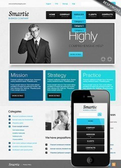 Smart Business Wordpress template