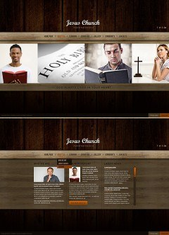 Church HTML5 template