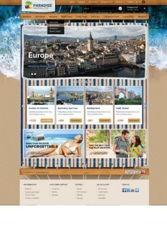 Travel co. OpenCart template