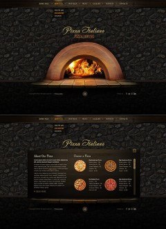 Pizza Italiano HTML5 template