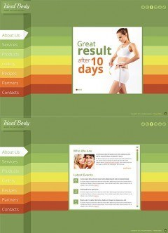 Weight Loss HTML5 template