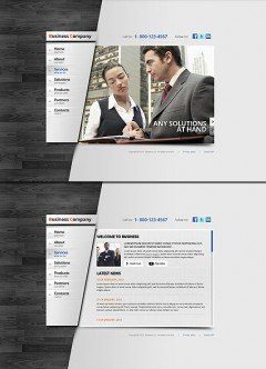 Business Area HTML5 template