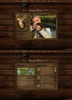 Hunting Ranch HTML5 template