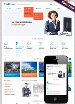 Business Company Bootstrap template