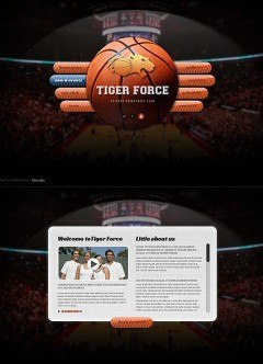 Basketball Game HTML5 template