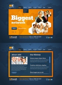 AD Consultation HTML5 template