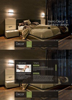 Decor studio HTML5 template