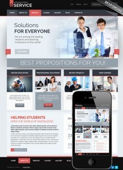 Professional solution v3.0 Joomla template