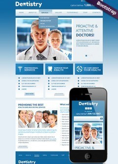 Dentistry Bootstrap template