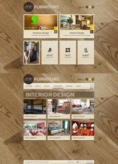 Interior Furniture HTML5 template