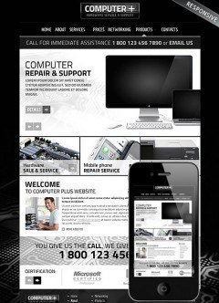 PC Repair v3.5 Joomla template