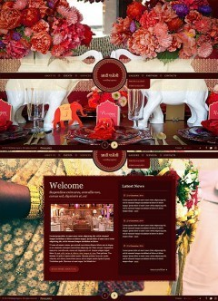 Indian Wedding HTML5 template