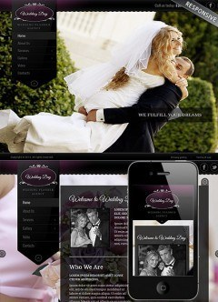 Wedding Planner Wordpress template