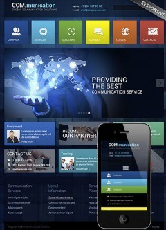 Communication Wordpress template