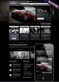 Car Repair Service Bootstrap template