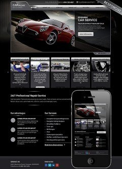 Auto service Wordpress template