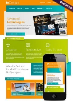 futuristic html5 easy flash and website templates from www