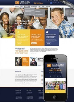College Wordpress template