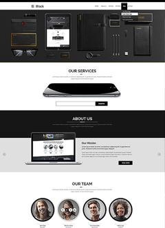 Color Multipurpose bootstrap theme Bootstrap template
