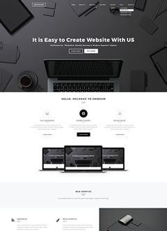 Black Label Wordpress template