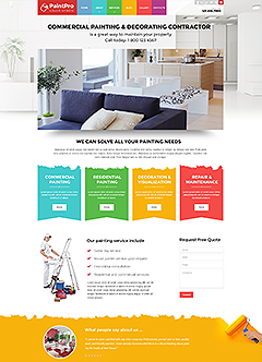 Painter v3.4 Joomla template