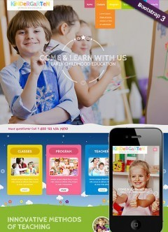 Preschool Theme Wordpress template