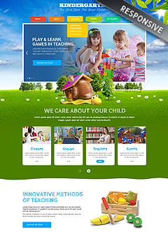 Kids Land Wordpress templates