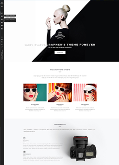 Photographer WP Wordpress template